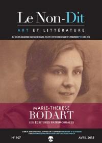 Le Non-Dit - 107 - avril 2015  - Marie-Thérèse Bodart
