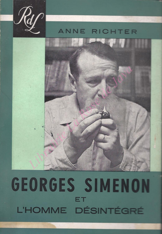 Georges Simenon et l'homme désintégré