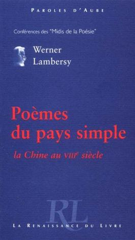 Poèmes du pays simple