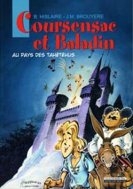 Coursensac et Baladin : Au pays des Tahétéus
