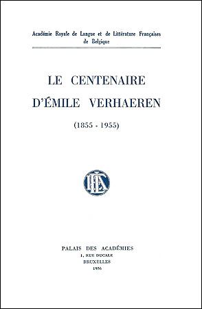 Le centenaire d'Émile Verhaeren