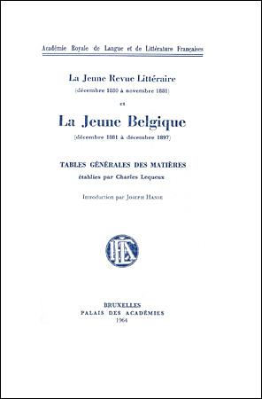 La légende de La Jeune Belgique