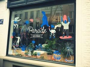 Parade – café littéraire
