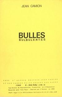 Bulles bulbulentes