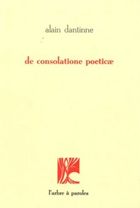 De consolatione poeticae