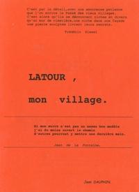 Latour, mon village.