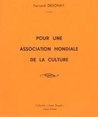 Pour une association mondiale de la culture