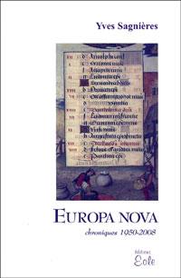 Europa Nova. Chroniques 1950 - 2008