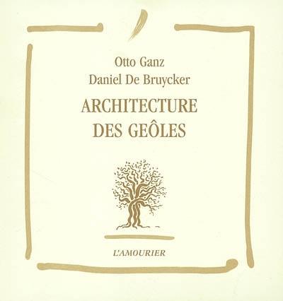 Architecture des geôles