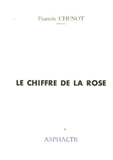 Le chiffre de la rose