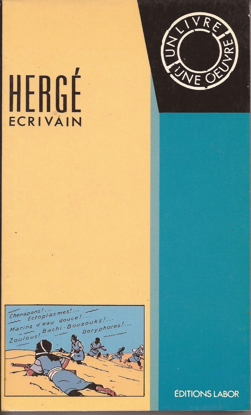 Hergé écrivain