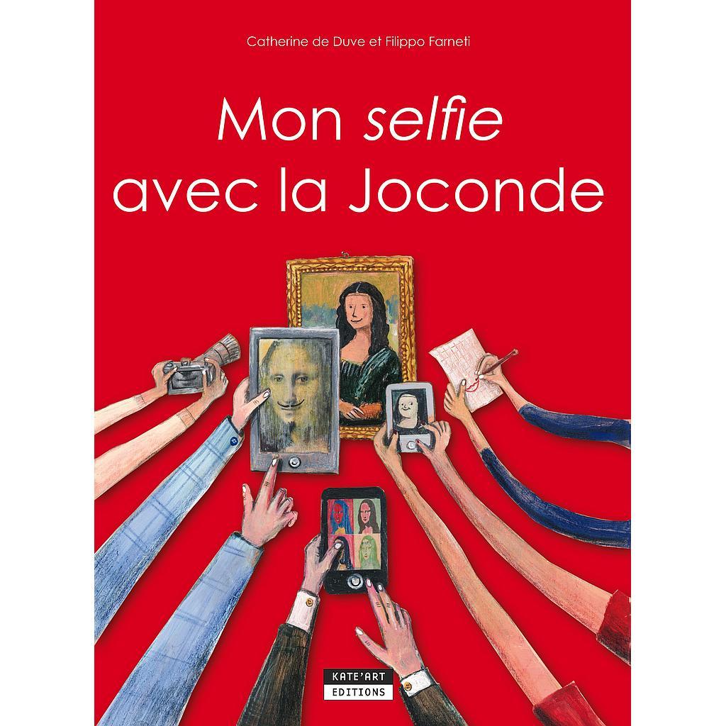Mon selfie avec la Joconde