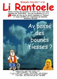 Li Rantoele - L° 83  - Av passé des bounès fiesses? Waeyén-tins 2017
