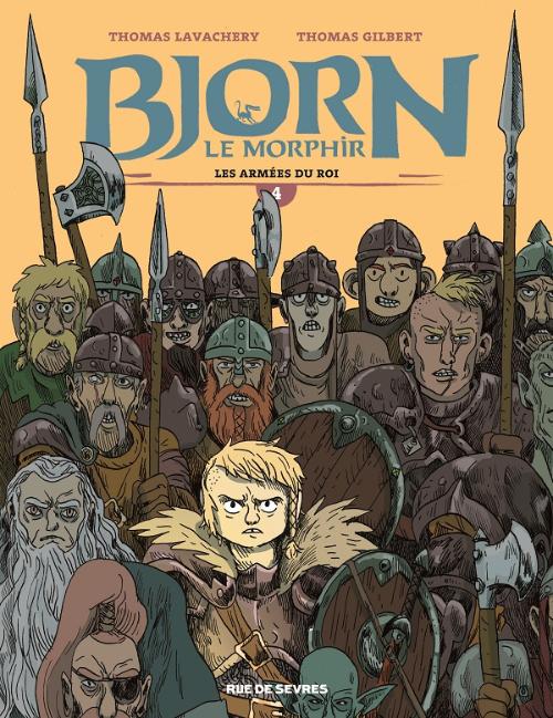 Bjorn le Morphir : Les armées du Roi (tome 4)
