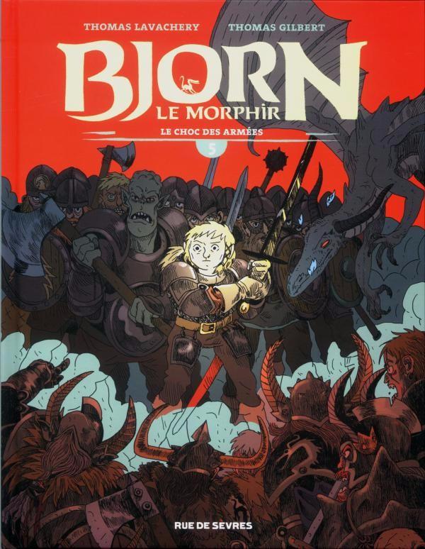 Bjorn le Morphir : Le choc des armées (tome 5)