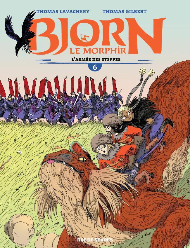 Bjorn le Morphir : L'armée des steppes (tome 6)