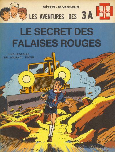 Les aventures des 3A (tome 3) : Le secret des falaises rouges