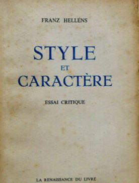 Style et caractère