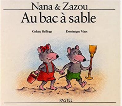 Nana et Zazou au bac à sable