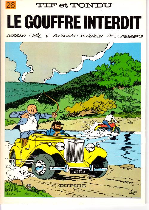 Tif et Tondu (tome 26) : Le gouffre interdit