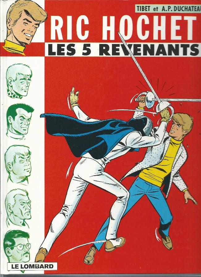Ric Hochet (tome 10) : Les 5 revenants