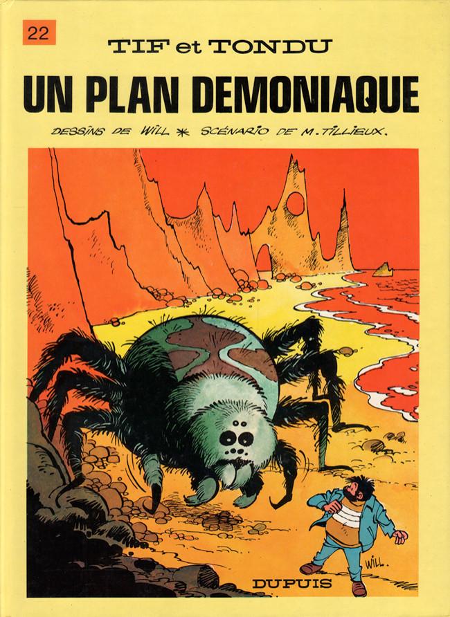 Tif et Tondu (tome 22) : Un plan démoniaque