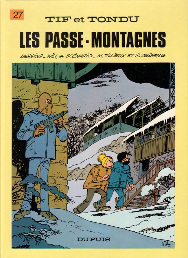 Tif et Tondu (tome 27) : Les passe-montagnes