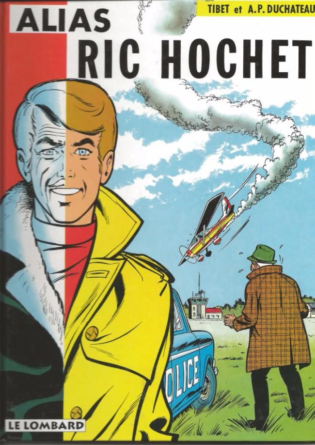 Ric Hochet (tome 9) : Alias Ric Hochet