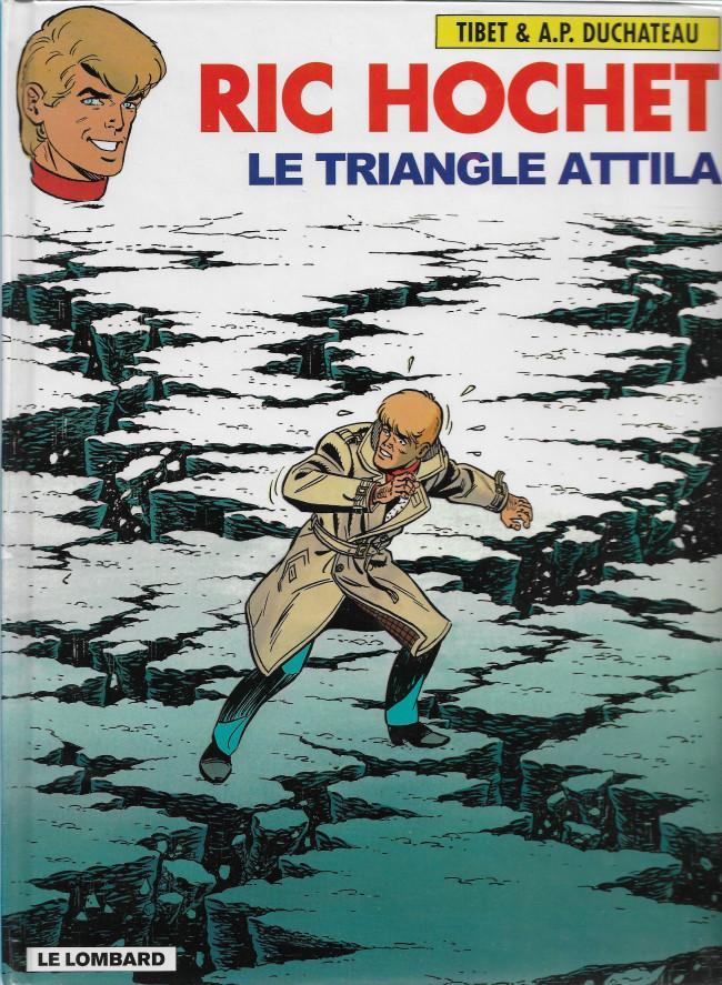 Ric Hochet (tome 45) : Le triangle d'Attila