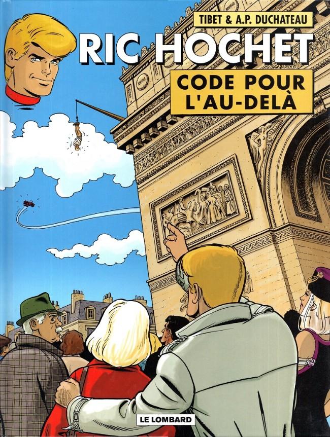 Ric Hochet (tome 75) : Code pour l'au-delà