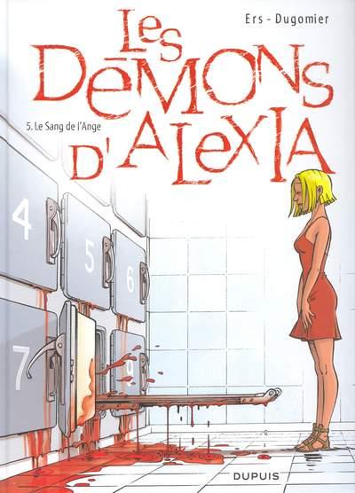 Les démons d'Alexia (tome 5) : Le sang de l'ange