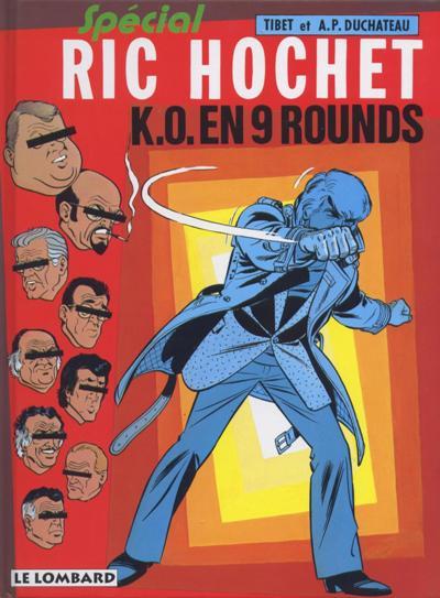 Ric Hochet (tome 31) : K.O. en 9 rounds