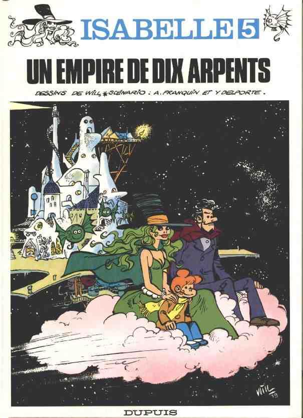Isabelle (tome 5) : Un empire de dix arpents