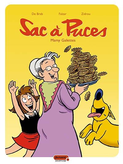 Sac à puces Vol 8. Mamy Galettes