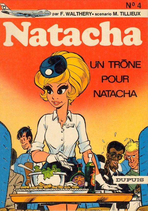 Natacha : Un trône pour Natacha (tome 4)