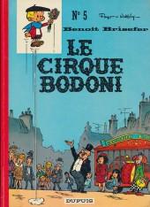 Benoît Brisefer (tome 5) : Le cirque Bodoni