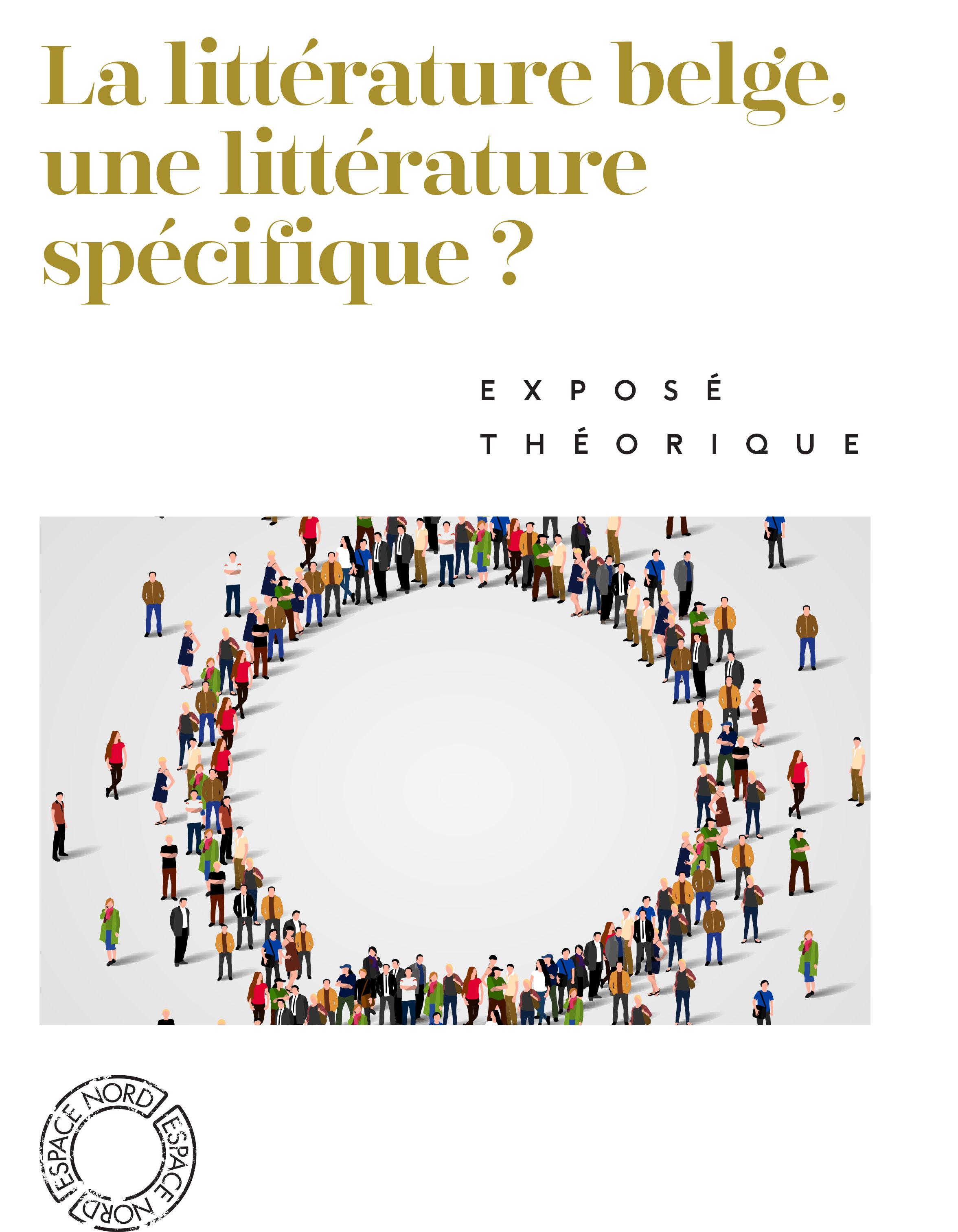 La littérature belge, une littérature spécifique ?