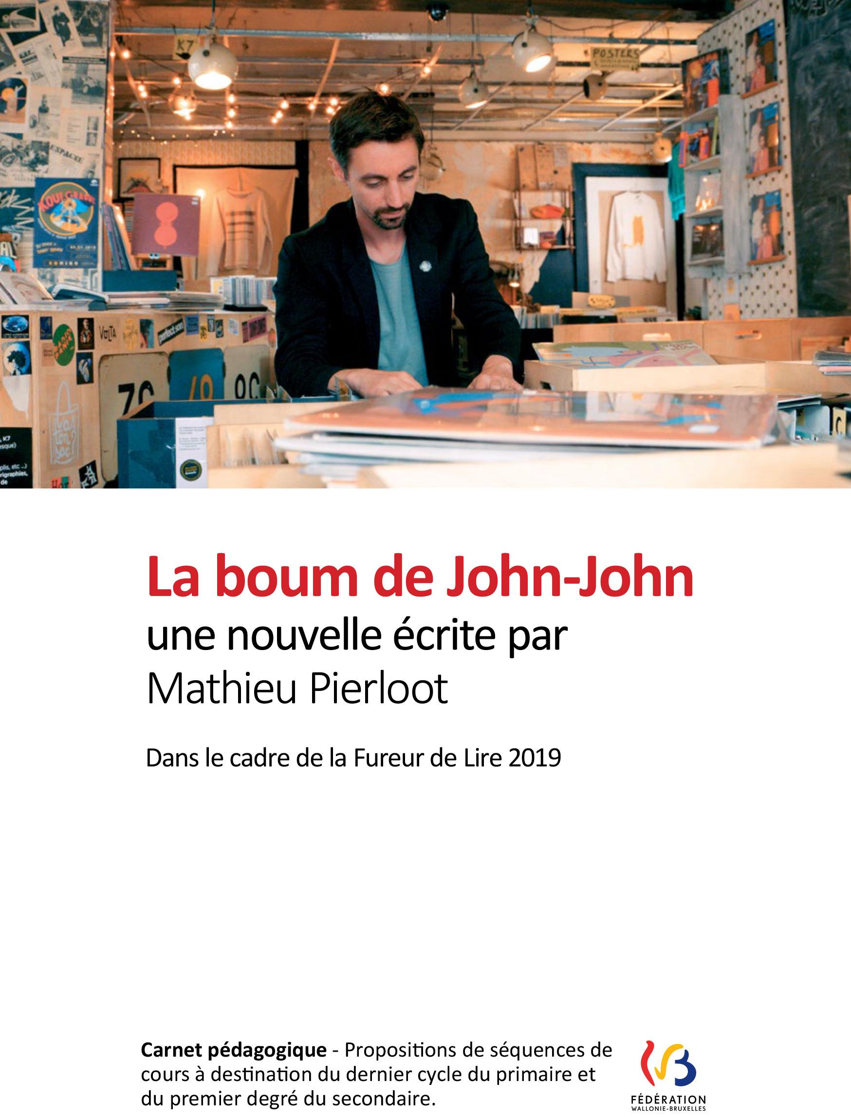 Dossier pédagogique : La boum de John-John