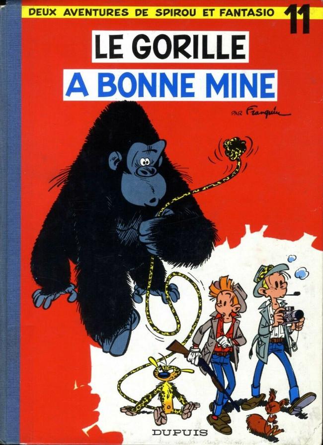 Spirou et Fantasio : Le gorille a bonne mine (tome 11)