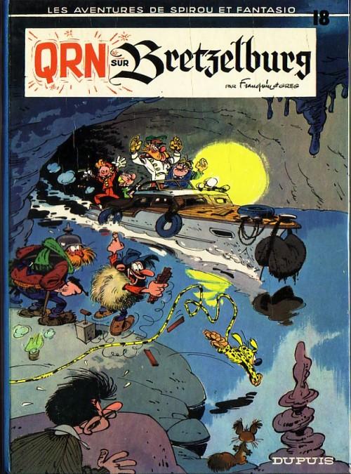 Spirou et Fantasio : QRN sur Bretzelburg (tome 18)