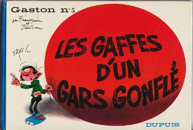 Gaston Lagaffe : Les gaffes d´un gars gonflé