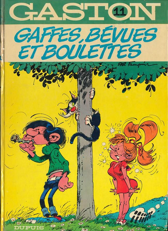 Gaston Lagaffe : Gaffes, bévues et boulettes