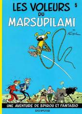 Spirou et Fantasio : Les voleurs du Marsupilami (tome 5)