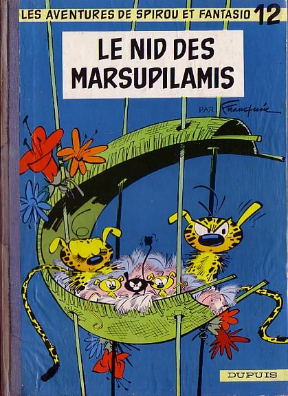 Spirou et Fantasio : Le nid des Marsupilamis (tome 12)