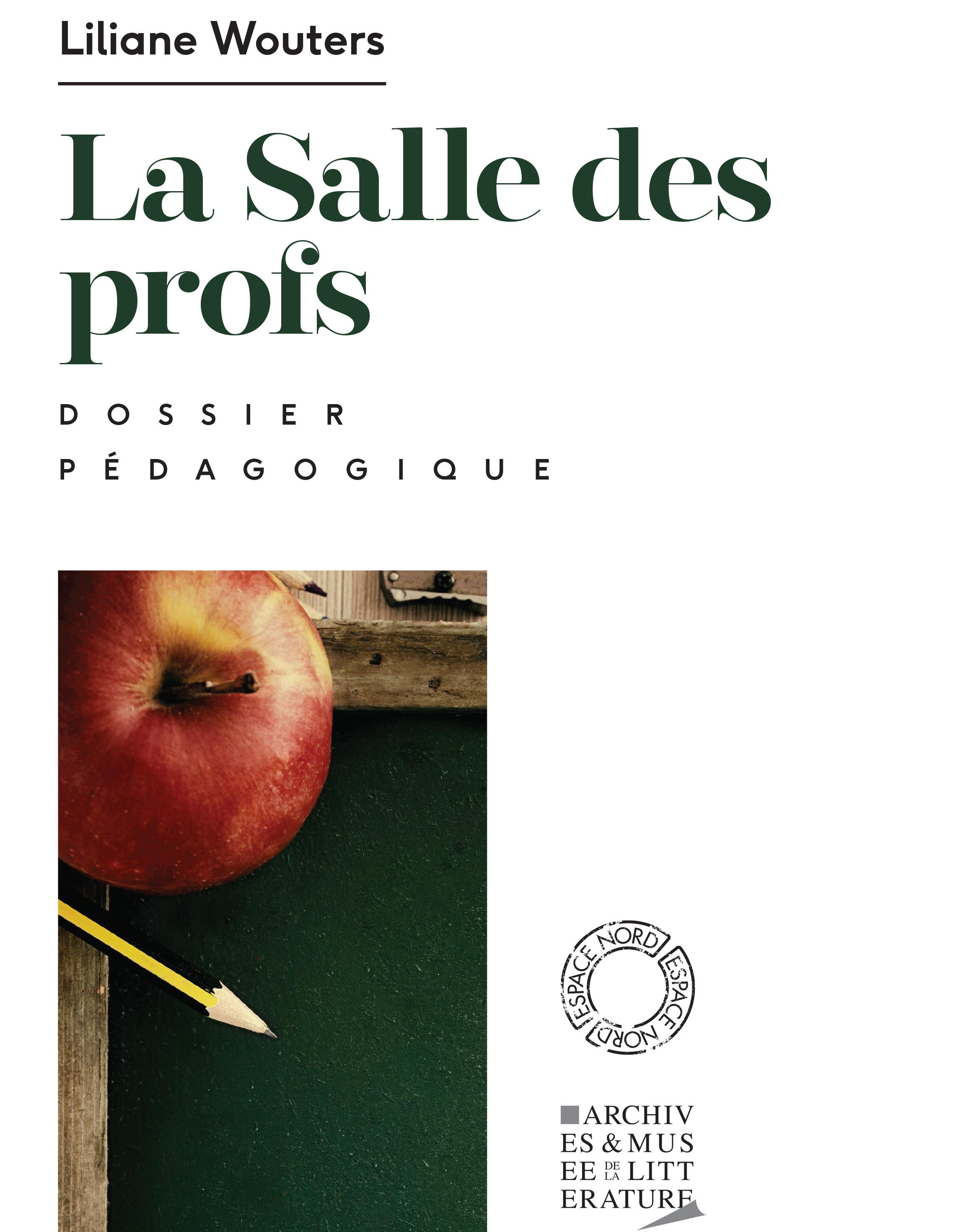 Dossier pédagogique : La Salle des profs
