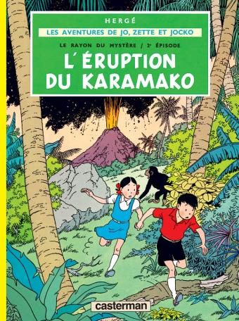 Les aventures de Jo, Zette et Jocko :  L' Éruption du Karamako (tome 4)