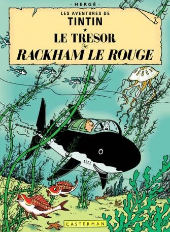Les aventures de Tintin : Le Trésor de Rackham le rouge (tome 12)