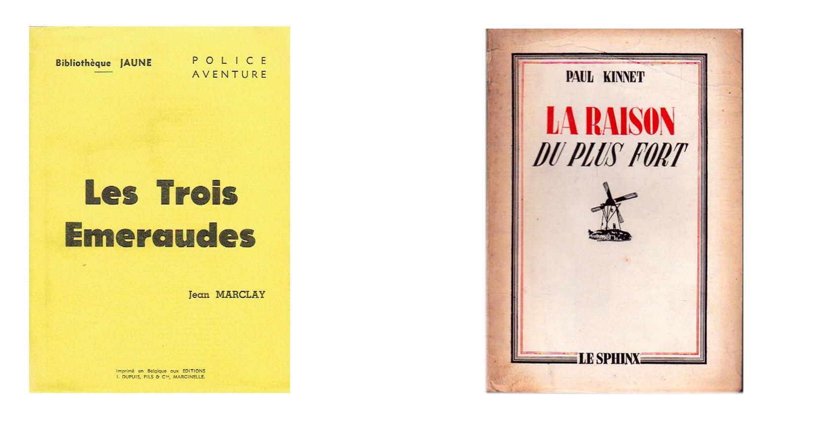 Le roman policier en Belgique francophone : deux exemple de collections