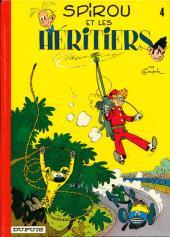 Spirou et Fantasio : Spirou et les héritiers (tome 4)