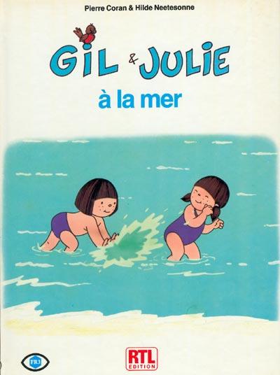 Gil et Julie à la mer